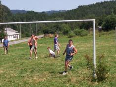 Pouťový fotbal 2008