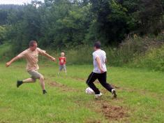 Pouťový fotbal 2009